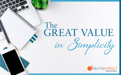 There Is Great Value In Simplicity