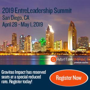 Gravitas Impact EntreLeadership Summit 2019