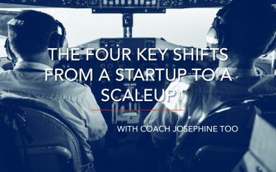The Four Key Shifts from a Startup to a Scaleup